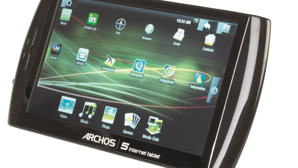 archos 5 internet tablet review expert reviews rh expertreviews co uk Archos 5 Internet Tablet Update Archos 5 Internet Tablet Specs