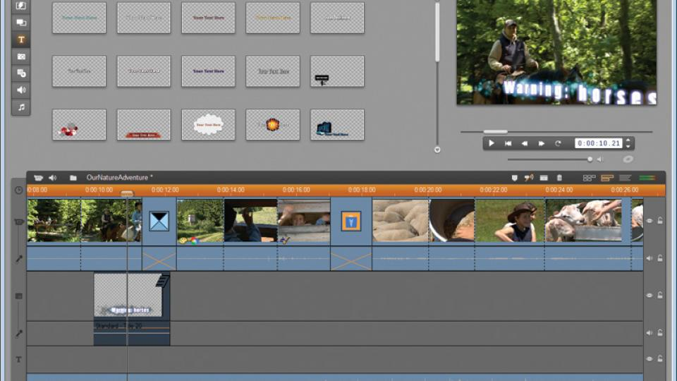 Edit Like a Pro: Pinnacle Studio HD 14 Video Editing Software | PCWorld