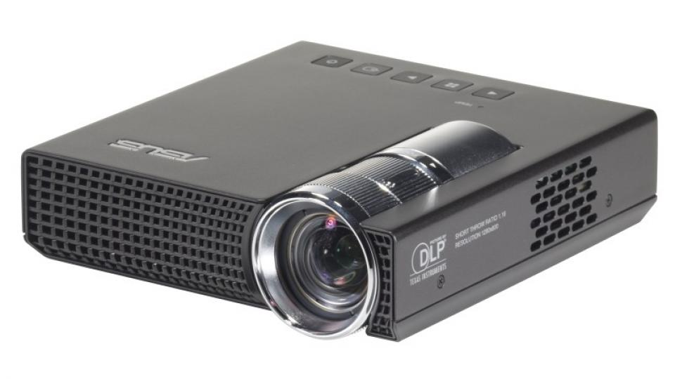 Asus p1 pico projector review expert reviews for Small tv projector