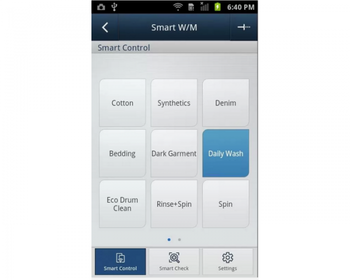 samsung smart washer app 2 expert reviews. Black Bedroom Furniture Sets. Home Design Ideas