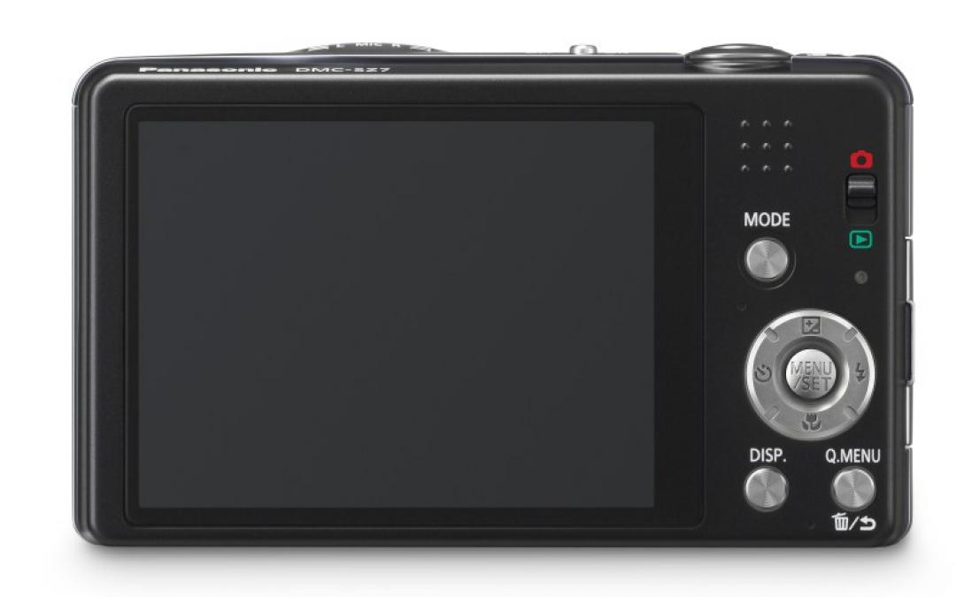Panasonic Lumix DMC-SZ7 back