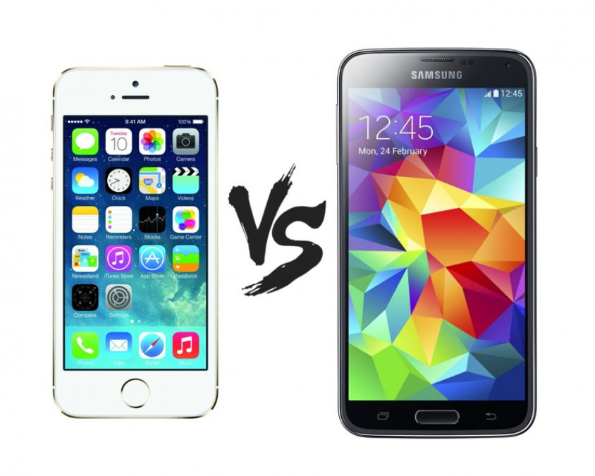 samsung galaxy s5 vs apple iphone 5s which one is for. Black Bedroom Furniture Sets. Home Design Ideas
