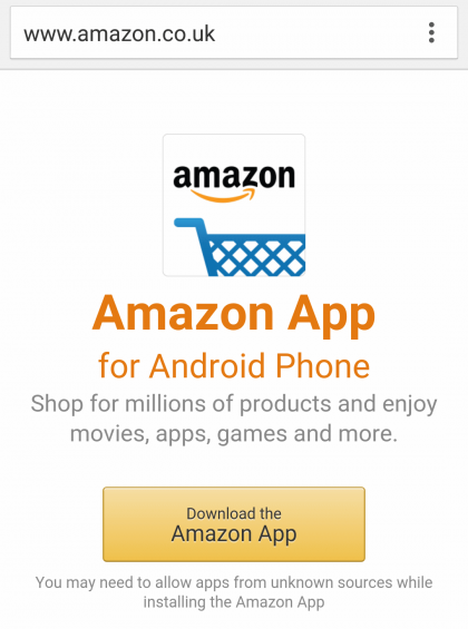 can i watch amazon instant video on my android phone one, not the