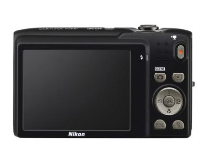 Nikon Coolpix S3100 back