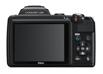 Nikon Coolpix L120 back