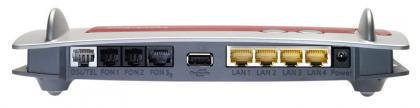 AVM Fritz!Box Fon WLAN 7390 rear