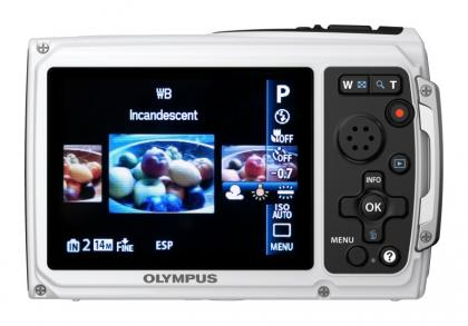 Olympus Tough TG-310 back