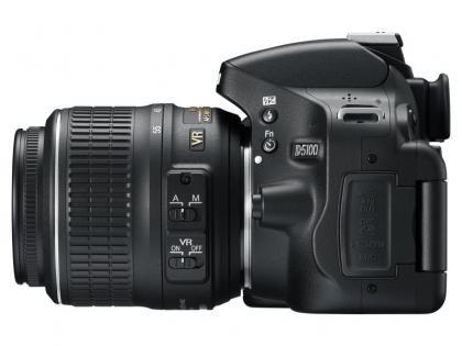 Nikon D5100 side