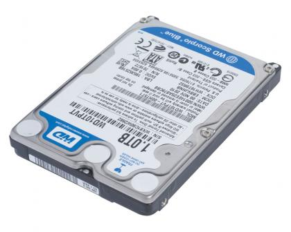 Western Digital Scorpio Blue 1TB