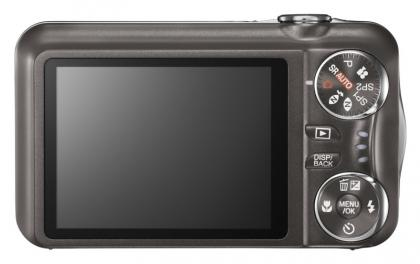 Fujifilm FinePix T200 back