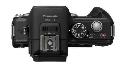 Panasonic Lumix DMC-G3 top