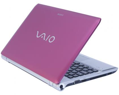 Sony VAIO Y-series three Quarter back