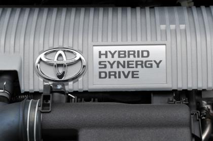 Toyota Auris Hybrid engine