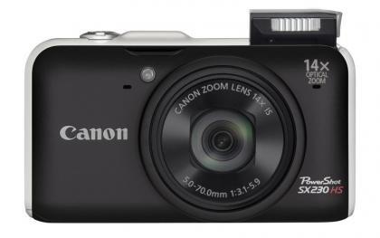 Canon PowerShot SX230 HS front