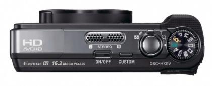 Sony Cyber-shot DSC-HX9V top