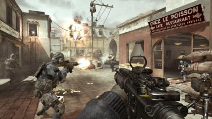 Modern Warfare 3 gunfight