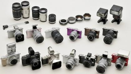 Olympus Pen range accessories