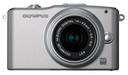 Olympus Pen E-PM1 front
