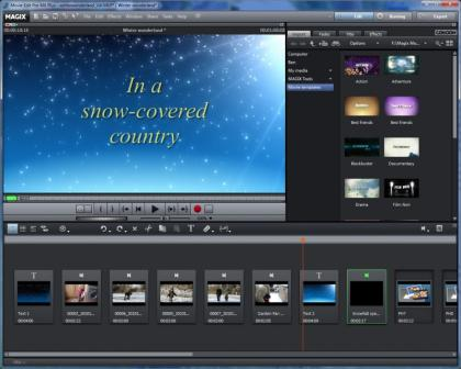 Magix movie edit pro mx plus review expert reviews for Magix movie edit pro templates