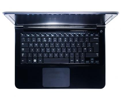 Samsung Series 9 (late 2011 refresh) keyboard