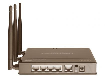 Trendnet TEW-692GR Wireless Router ports