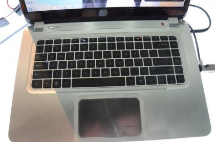 HP Envy Ultrabook keyboard