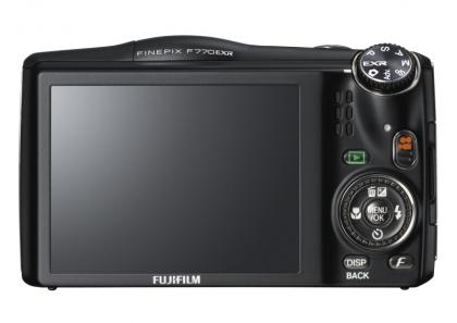 Fujifilm Finepix F770EXR rear