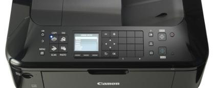 Canon PIXMA MX515 controls