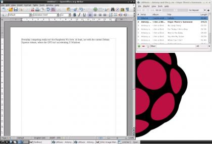 Raspberry Pi OpenOffice