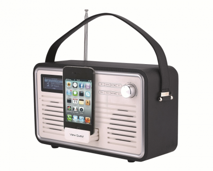 View Quest Retro WiFi Radio