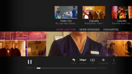 YouView BBC iPlayer More Episodes