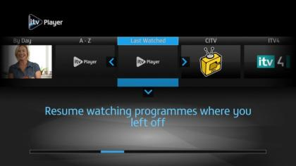YouView ITV Player app