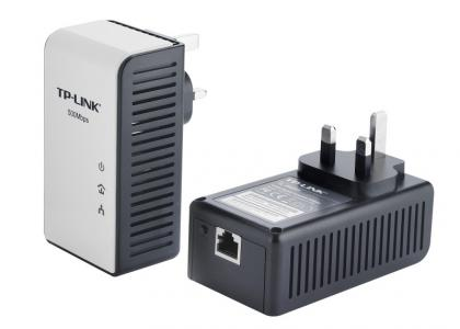 TP-Link AV500 Gigabit Powerline Adaptor Starter Kit