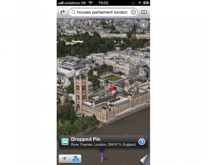 Apple iOS 6 3D Cities
