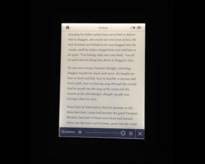 Kobo Glo full brightness