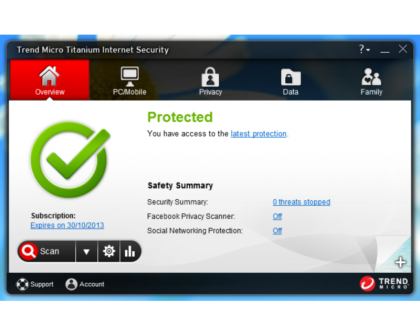 Trend Titanium Internet Security 2013