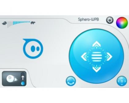 Sphero Android control interferace
