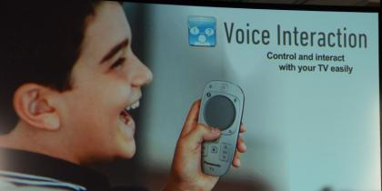 Panasonic Smart Viera 2013 Voice Interaction
