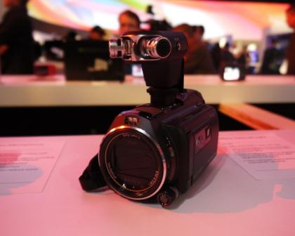 Sony 2013 camcorders