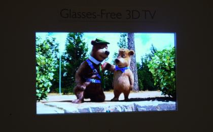 Philips glasses free TV