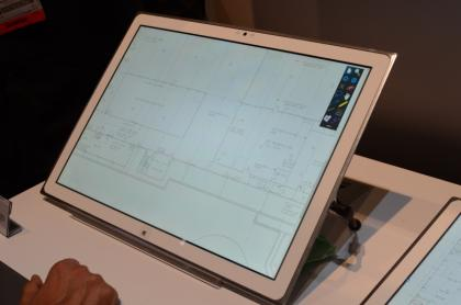 Panasonic 20 inch 4k tablet architecture