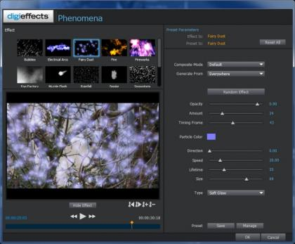 Magix Movie Edit Pro 2013 Particle Effects