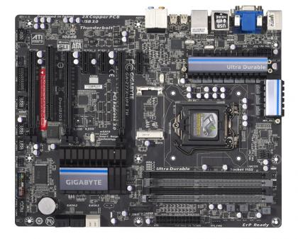 Gigabyte Z77X-UP4 TH