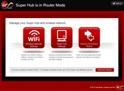 Virgin Media Super Hub 2