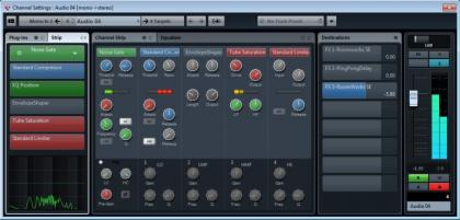 Cubase Elements 7 Channel Settings