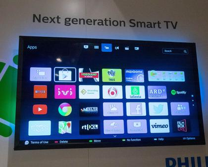 philips is using android for its 2014 smart tvs expert reviews. Black Bedroom Furniture Sets. Home Design Ideas
