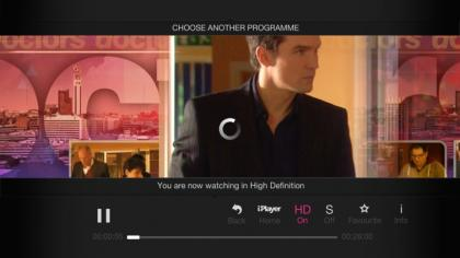 BT YouView+ iPlayer HD