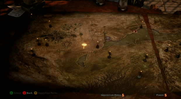 Dragon Age Inquisition Gamescom demo shows world map Expert Reviews