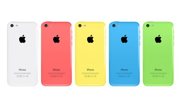 iPhone 5C colours