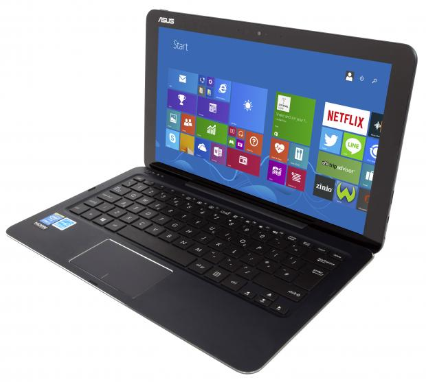 Asus Transformer Book Chi T300 front angle